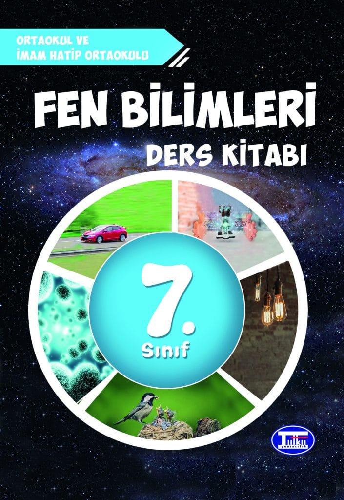 MEB - 7. Sınıf Fen Bilimleri Ders Kitabı - Tutku Yayınları