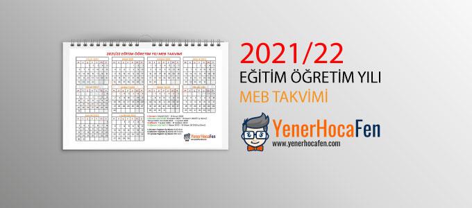 2021-22-MEB-Takvimi-PDF-İndir